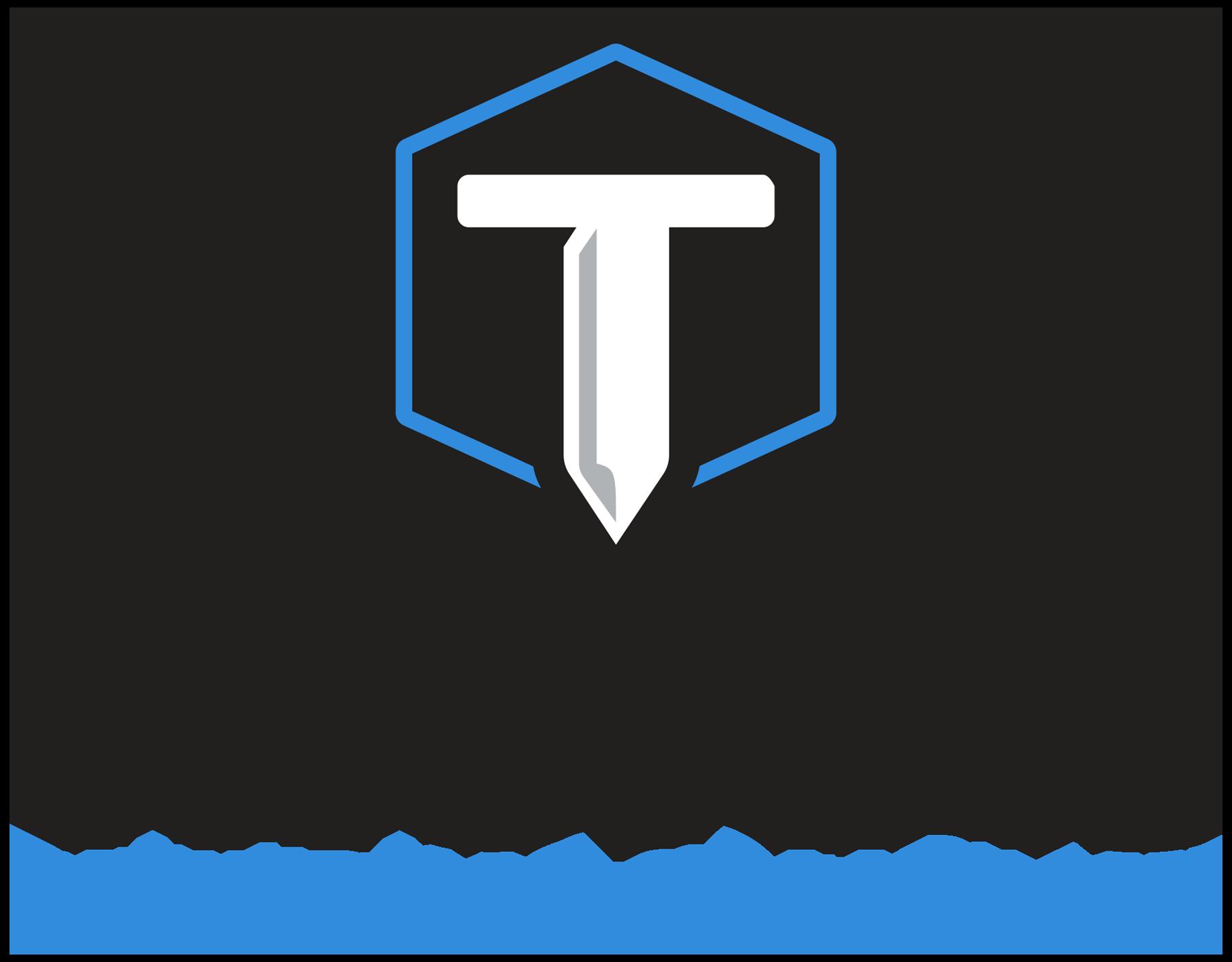 thomas building company logo