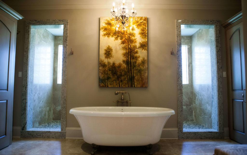 elegant bathroom tub