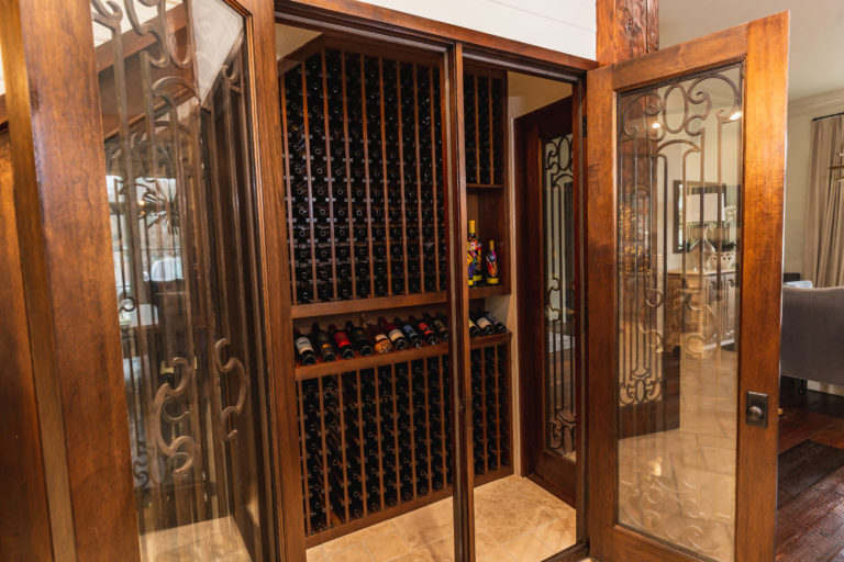 Custom Wine Storage Room