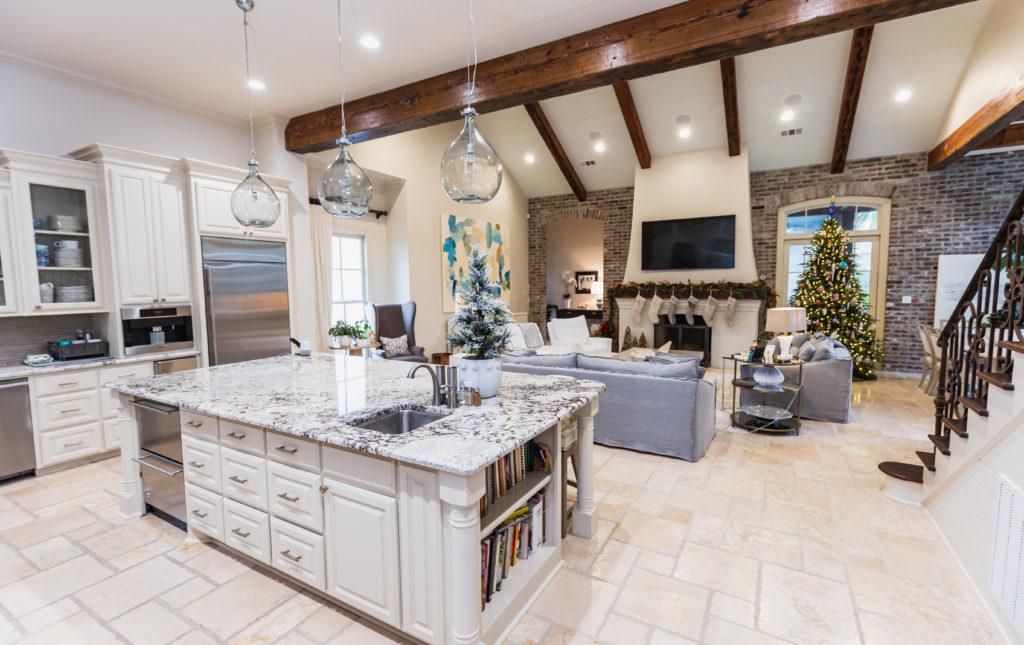 Custom Home Kitchen, Baton Rouge, LA